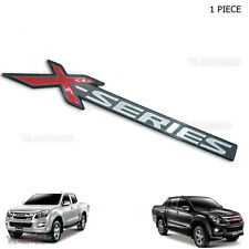 X-Series Sticker 3D Rear Back Tailgate For Isuzu D-max Holden 4x2 4x4 2011 2017