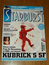 STARBURST #263 BRITISH SCI-FI MONTHLY MAGAZINE JULY 2000 KUBRICK FARSCAPE