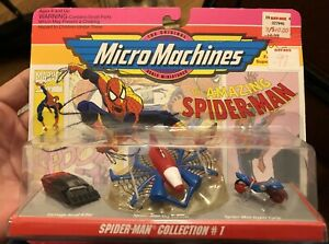 Amazing Spider-Man Micro Machines Spider-Man Collection #1 (1993) Galoob Marvel