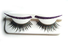 Long Eyelashes Liners Lashes Halloween Sexy Glitter Adult Costume Accessory