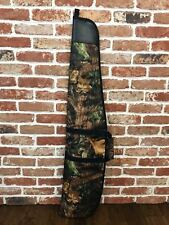 Padded Woodland Forest Camo Air Rifle Gun Carry Case Bag Slip v2