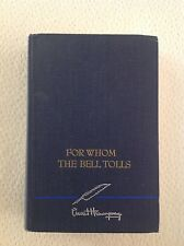 For Whom the Bell Tolls, 1940, HC, Very Good+, Hemingway