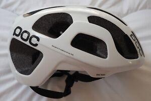 POC Octal Cycling Helmet - L - Hydrogen White - little use - excellent condition