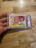Mickey Mantle PSA 8 NM 2008 Topps #511 New York Yankees Collector Card GORGEOUS