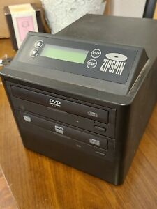 ZipSpin DVD-121-PRO-WM Disc Duplicator Zip Spin CD DVD Master Burner Recorder