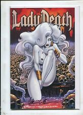 LADY DEATH: KILLERS! #1 GHOST EDITION VARIANT SIGNED BY BRIAN PULIDO AND #19/99!