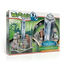 NEW YORK CITY COLLECTION - WREBBIT 3D WORLD TRADE puzz puzzle jigsaw NEW
