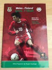 Wales v Finland-10th September 2003-Euro 2004 Qualifying Match