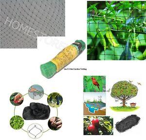 2m X 10m GARDEN NETTING NET FINE MESH FRUITS VEGETABLE VEG PLANTS POND ANTI BIRD