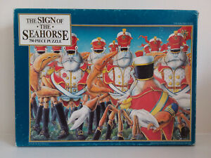 Sign of the Seahorse: Soldier Crabs. Vintage 1992 Graeme Base 750 piece jigsaw.
