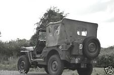 US Army Jeep as used in Normandy Landings World War 2, Photo 12x8 inch Reprint