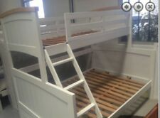 Bunk bed double single SOLID NEW Kids two Tone Solid Bunk