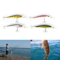 12.5cm 14g Wobbler Fishing Lure Big Crankbait Minnow Peche Bass Trolling Bait NT
