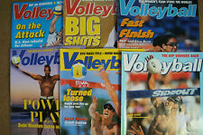 VOLLEYBALL MAGAZINE 2001 6 issues Misty May Kerri Walsh Sinjin Smith Karch