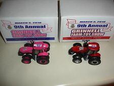 2 - 1/64 Magnums, Iowa FFA Tractors - 9th Annual Grinnell Farm Toy Show 2016
