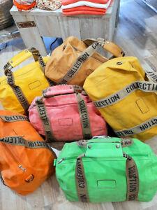 Weekender Bag Tasche Reisetasche Reise Sport Fitness Velours-Leder-Optik Damen