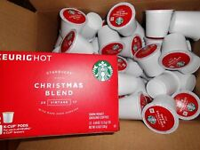 STARBUCKS CHRISTMAS BLEND VINtage 100 k cups read description
