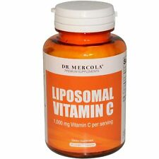 Dr. Mercola Premium Supplements Liposomal Vitamin C 1000 mg 60 Licaps Capsu