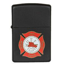 """Zippo """"Firefighter Emblem"""" Lighter  - Rare"""