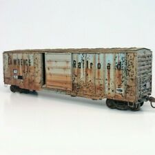 Custom Weathered HO Scale ex-St. Lawrence Railroad 50' Berwick Boxcar AGR Patch