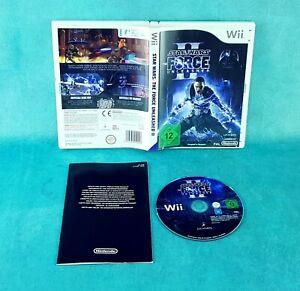Star Wars: The Force Unleashed II + OVP Nintendo Wii Spiel Super /712