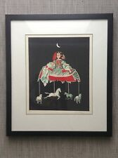 Print Cuban Art Signed Gonzalez Taller De Serigrafia Rene Portocarrero Carousel