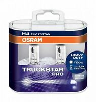 Osram Truckstar Pro H4 64196TSP Halogen Lampen 24V 75/70W Duo-Box (2 Stück)