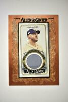 2020 Topps Allen and Ginter Mini Framed Relic #MFR-JV Justin Verlander