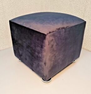 Foot Rest Stool Pouffe Living Room Ottoman Footstools Extra Seat