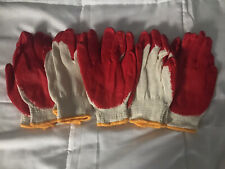 New 5 Pair BBH Gardening Gloves Latex Foam Coating Polyester Liner Free Shipping
