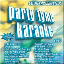 PARTY TYME KARAOKE - COUNTRY LEGENDS 1 (16-SONG CD+G) CD PARTY TYME KARAOKE NEW