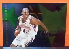 Jerry Stackhouse card Grant's All-Rookie 95-96 Hoops #AR8