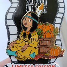 Disney Peter Pan's TIGER LILY Thanksgiving 2012 Pin LE300 DSF/DSSH - New on Card