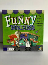 NEW Funny Business Family Board Game Mismatched Mergers Gamewright SEALED