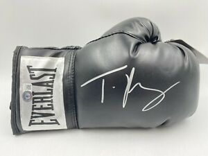 Tyson Fury Signed Everlast Boxing Glove Autographed AUOT BAS WITNESSED HOLO
