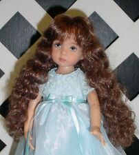 Doll Wig Monique #102 LIGHT BROWN size 14/15 Fits My Twinn