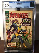 The Avengers #42 CGC 6.5