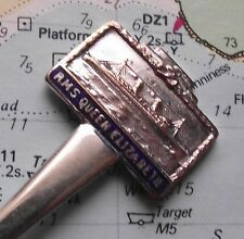 White Star Shipping Line RMS Queen Elizabeth Spoon