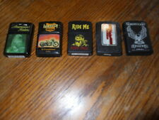 Lot of 5 motorcycle themed lighters lot#2