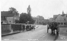 Abridge Horse & Cart Motorcycle Nr Chigwell Theydon Bois unused RP old pc