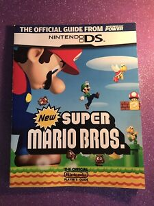 Nintendo Power New Super Mario Bros DS Official Strategy Guide Book Preowned