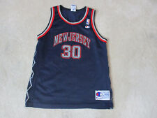 VINTAGE Champion Kerry Kittles New Jersey Nets Basketball Jersey Youth  Large Kid f9a5d9b1a
