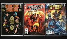 Suicide Squad #1 1987 + New 52 #1 + 2008 #1 Deadshot High Grade Lot of 3
