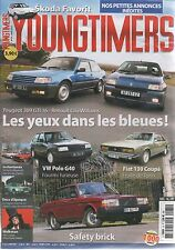 YOUNGTIMERS 75 VOLVO 240 260 VW POLO G40 FIAT 130 COUPE CLIO WILLIAMS 309 GTI 16