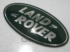 Land Rover Discovery 4 delantero parrilla insignia más grande grande Oval Verde Plata 09-14