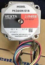ORIENTAL MOTOR PK264M-01B VEXTA Stepper Motor 2Phase, 0.9 Deg, 400 steps/Rev