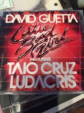 David Guetta Little Bad Girl  promotional single Ludacris Taio Cruz club instrum