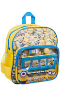 Despicable Me Minions Backpack Kids School Rucksack Bag With Stationary