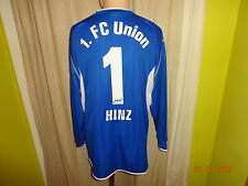 1.FC Union Berlin saller Torwart Matchworn Trikot 2004/05+ Nr.1 Hinz Gr.L/XL