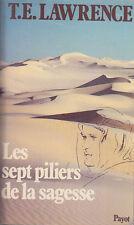 C1 LAWRENCE D ARABIE T. E. Lawrence LES SEPT PILIERS DE LA SAGESSE Grand Format